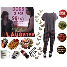 Leave Me Alone by officialbabygirl on Polyvore featuring ATG