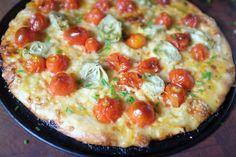 Cherry Tomato Pizza Recipe