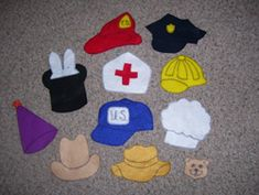 Community Helpers ~ Felt Board Community Helpers Hat Poem