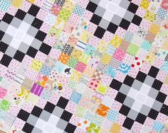 Red Pepper Quilts: Irish Chain Scrap Buster Quilt - Part 1