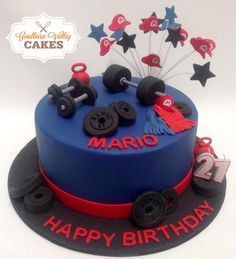 Weight Lifter Cake
