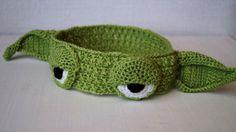 Yoda Headband by stepbystepatterns on Etsy