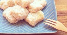 甘くてとろ〜りやわらかい♪秋田の名物バター餅☆ 切り餅とレンジで簡単おやつ*