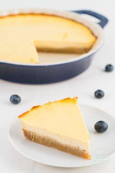 Zuckerfreier Käsekuchen ohne Mehl