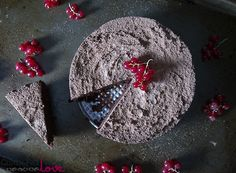 Fig and Chocolate Flourless Cake Recipe (dairy-free, gluten-free, vegan)
