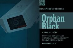 """Orphan Black on Instagram: """"We're monitoring you, #CloneClub... New #OrphanBlack tonight at 10/9c on @bbcamerica."""""""