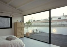 This small apartment was refurbished by Italian architect Francesco Moncada in 2009.