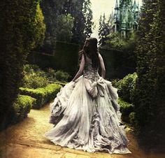 Image de princess, castle, and dress