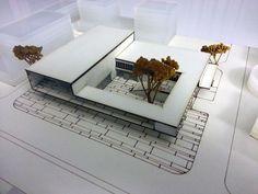 1. Ödül, Şehitkamil Belediyesi Sanat Merkezi Yarışması Concept Models Architecture, Architecture Model Making, Museum Architecture, Modern Architecture House, Architecture Design, San Myshuno, Modern Apartment Design, Arch Model, Cube Design