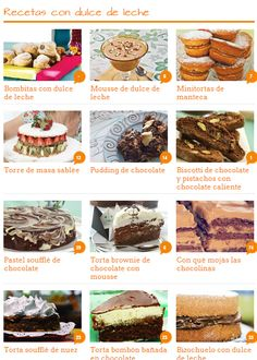 ¡Felíz día del Dulce de Leche!    Les dejamos varias recetas de Maru Botana:    http://www.revistamaru.com/dulce-de%20leche-t47208 cc    ¡Qué rico!
