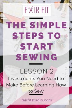 Find out the 3 critical paths to sewing success. This blog post + free workbook…