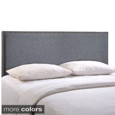 Region Queen Upholstered Headboard - 16668719 - Overstock.com Shopping - Big Discounts on Modway Headboards