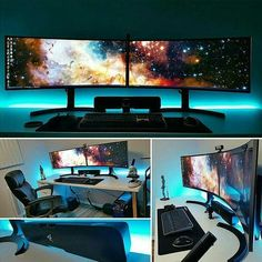 Best Video Game Room Ideas [A Gamer's Guide] Tags: Gaming room setup ideas, video game room ideas, basement entertainment room, gaming setup, battle station, gaming room decoration.