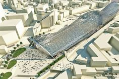 Birmingham Curzon Masterplan, which was revealed to the Post, will be one of the biggest urban regeneration schemes in Britain and see 141 hectares of the city centre transformed In Plan, How To Plan, Birmingham City Centre, Construction News, Metro Station, City Council, Master Plan, Aerial View, Cladding
