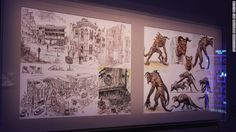 """Exhibit at """"Art of Video Games"""" at Smithsonian in DC.- I really want to see this Video Game Logic, Video Game Art, Video Games, Fallout New Vegas, Fallout 3, Bioshock Cosplay, Art History Lessons, Arts Ed, Dragon Age"""