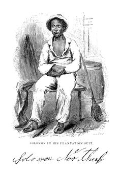Solomon Northup (July 1808–1863?)  A free-born African American from New York, he was the son of a freed slave and a free woman of color. A farmer and violinist, Northup owned land in Hebron, New York. In 1841 he was kidnapped by slave traders, having been enticed to Washington, D.C. (where slavery was legal) with a job offer as a violinist with traveling entertainers. Shortly after he and his employers arrived in DC,  drugged him into unconsciousness to effect the kidnapping.