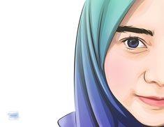 Vector Illustrations - Hijab on Behance