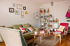 Lindo apartamento pequeno colorido e com boas energias - limaonagua
