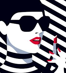 Image result for fashion pop art illustration