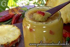 Receita de Geleia de Abacaxi com Pimenta