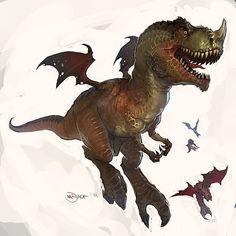 T-Rex Muta by Mr--Jack on DeviantArt