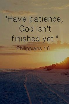 God has great plans for you.....just wait have keep faith in him