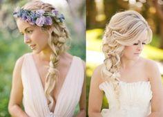penteado de noiva trança lateral - Pesquisa Google