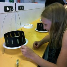Zoetrope means Turning Zoo or Wheel of Life. I developed this kit as a way for kids to learn the basic mechanics of strobing images and get excited about animatio. Victorian Crafts, Victorian Art, Science Projects, Projects For Kids, Art Projects, Science Ideas, Science Experiments, Project Ideas, School Holiday Programs