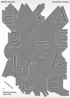 """bb-bureau:  """"Hommage à Pierre Faucheux""""A tribute to Pierre Faucheux withMathieu Cieters — The Graphic Nomad. 10€ + shipping"""