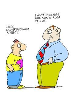 L'Italia terra di meritocra...Zia... | I Due Punti - News Teramo, Abruzzo, Italia. Notizie. Cronaca.
