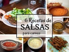 6 Recetas de salsas para carnes no te lo pierdas. Pincha en este enlace o en la foto para acceder y ver la publicación completa en La cocina de Lila