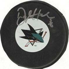 Dwight Helminen Autographed Hockey Puck #SportsMemorabilia #SanJoseSharks