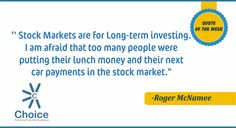 """Stock Market Quote Quote Of The Week  """"one Of The Funny Things About The Stock Market ."""