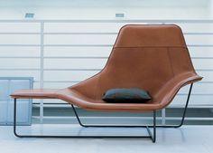 Zanotta Lama Chaise Lounge