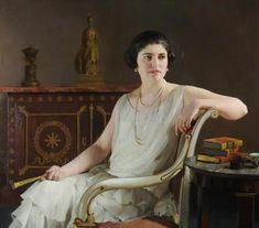 International Portrait Gallery: Retrato de la VIIª Condesa de Lisburne