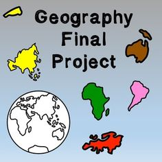 World History/Geography High School : Final Project -- This 3-day lesson plan is designed to give students class time to complete a final project about the five themes of geography. Students are encouraged to use their research skills and knowledge about the five themes to create a unique project. https://www.teacherspayteachers.com/Product/World-HistoryGeography-Lesson-PlanFinal-Project-2097480