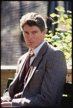 gorgeous man & an inspiration - truly a super man! - Christopher Reeve