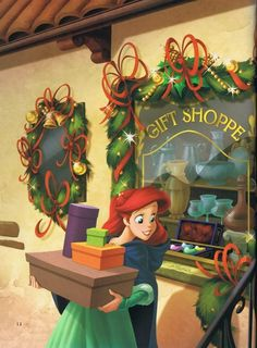 Ariel does her Christmas shopping! | #disneychristmas #disneyxmas #disney #christmas #holiday #xmas