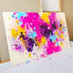 Abstract Art, Abstract Paintings, Different Light, Color Stories, Large Wall Art, Types Of Art, Vibrant, Hand Painted, Canvas
