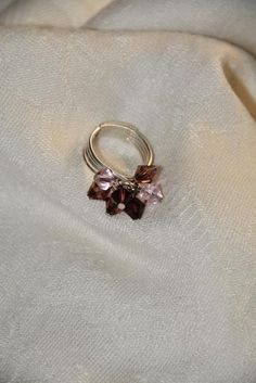 Purple/Pink Crystal Ring by DevinelyCreated on Etsy Crystal Ring, Heart Ring, Trending Outfits, Crystals, Unique Jewelry, Purple, Handmade Gifts, Rings, Etsy