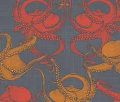 Cephalopod - Octopi by patricia_braune