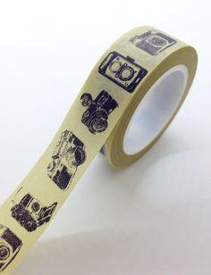 Appareil photo Vintage mignon Washi Tape photographe Packaging photographie caméras
