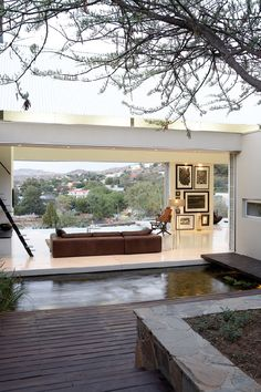 Pared back simplicity of style and materials in Namibia | Designhunter - architecture & design blog