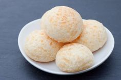 Cheese buns (gluten free)Ingredients: tapioca starch, cream, cup water, butter, salt, egg, grated hard cheese: parmesan, sharp cheddar, etc.