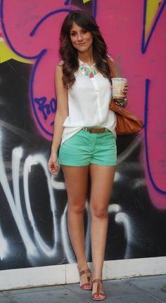 Zara  Jewelry, Zara  Shirt / Blouses and H  Shorts