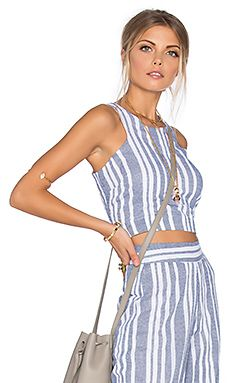 Shop for Tularosa Marley Crop Top in Blue & White at REVOLVE. Free 2-3 day shipping and returns, 30 day price match guarantee.
