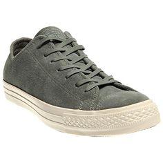 CONVERSE Unisex Chuck Taylor Suede Low Top Sneaker (Grey ...