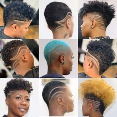 60 Cute Short Haircuts For Black Women Short Haircuts black Cute Haircuts Short women Natural Hair Short Cuts, Short Natural Haircuts, Black Women Short Hairstyles, Tapered Natural Hair, Cute Short Haircuts, Short Hair Cuts For Women, Natural Hair Styles, Curly Short, Short African American Hairstyles