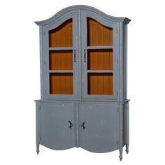 Check out this item at One Kings Lane! Carter Armoire, Distressed Gray