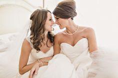 "Felicity & Alanna's ""Love is Love"" San Diego Wedding   Sweet Little Photographs - same sex wedding"
